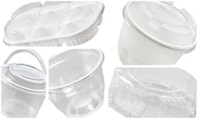 Mükemmel Sunumlar İçin Plastik Pasta Kapları