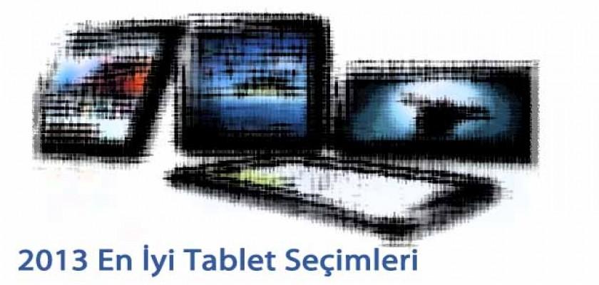 2013 Yılının En İyi Tablet Tercihleri