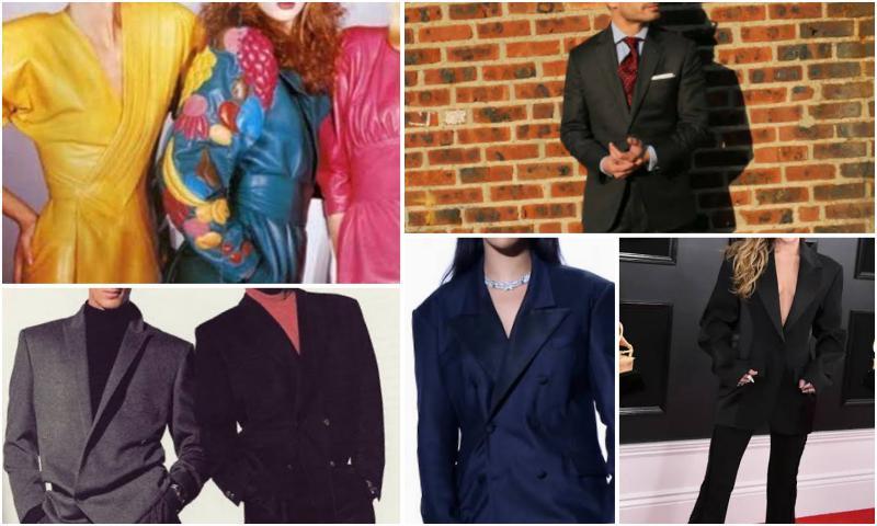 Seksenli Yılların Modası Takım Elbise Yine Sahnede