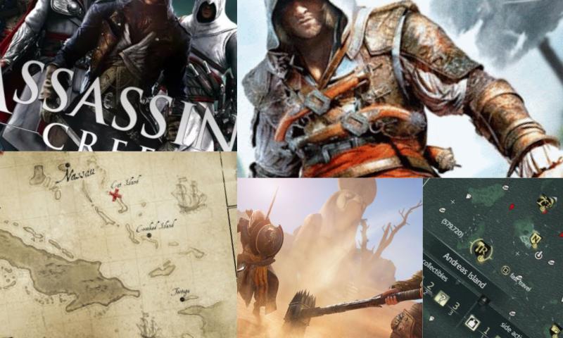 Assassin's Creed Black Flag Haritası Yayınlandı