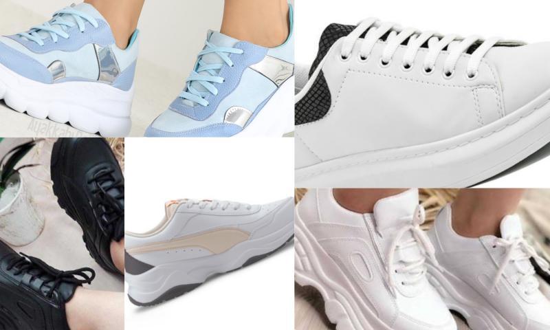 Spor Ayakkabılar Yükseliyor
