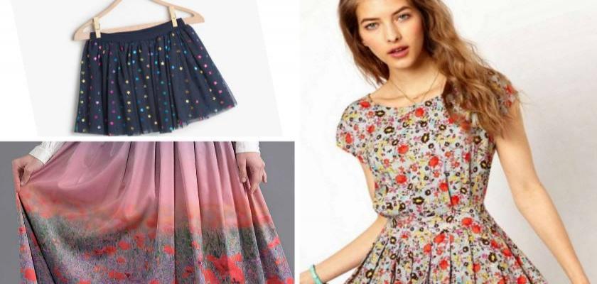 Çiçekli Desenli Kıyafet Modelleri