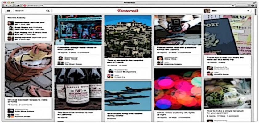 Pinterest 2013 Yeni Haliyle Yayında