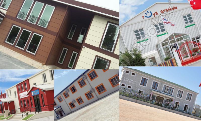 Prefabrik Okullar Hızla Çoğalıyor
