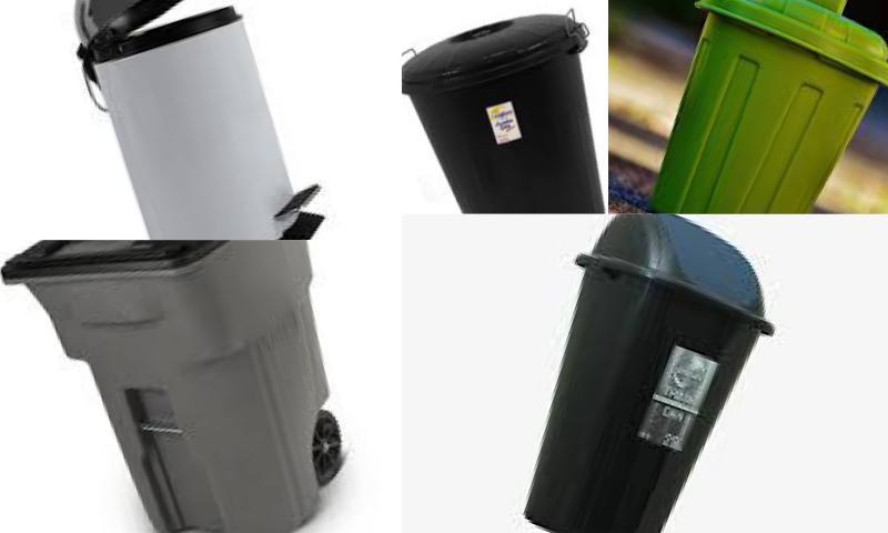 Rubbish Bins-Çöp Kutuları