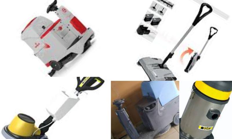 Geniş Alanlarda Kullanılan Temizlik Makinaları